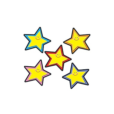 Carson-Dellosa Stars Cut-Outs, Assorted Colors, All Grades