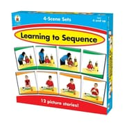 Carson-Dellosa Learning to Sequence 4-Scene Board Game