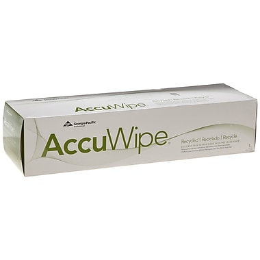 AccuWipe® Recycled 1-Ply Delicate Task Wipers