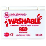 Center Enterprises® Washable Stamp Pad, Red