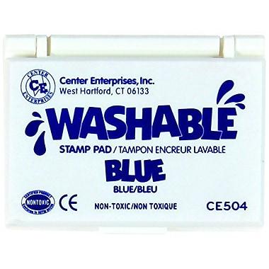 Center Enterprises® Washable Stamp Pad, Blue
