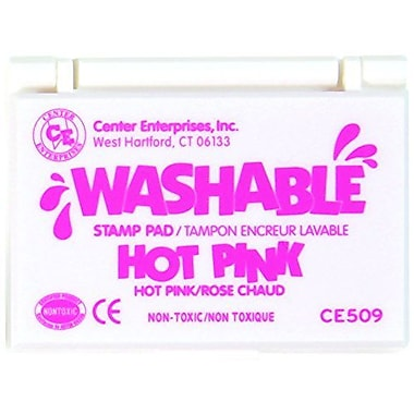 Center Enterprises® Washable Stamp Pad, Hot Pink