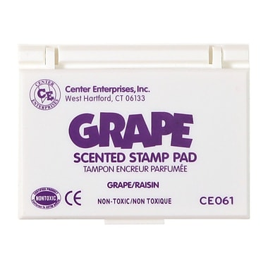 Center Enterprises® Scented Stamp Pad/Refill, Grape/Purple