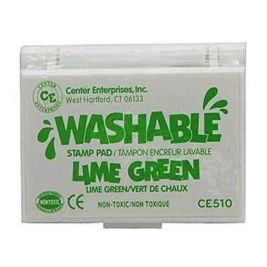 Center Enterprises® Washable Stamp Pad, Lime Green