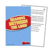 Edupress® Reading Comprehension Practice Card, Reading Between The Lines, Reading Level 2.0 - 3.5