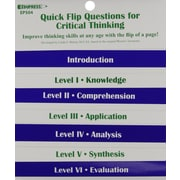 Edupress® Quick Flip Questions Book For Critical Thinking Questions, Grades pre-kindergarten