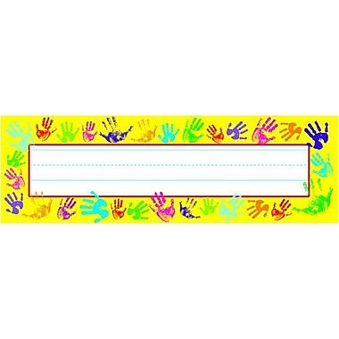Trend® Desk Toppers® pre-kindergarten - 3rd Grades Name Plate, Helping Hands