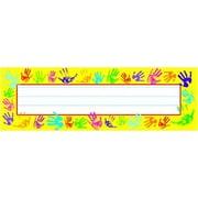 Trend® Desk Toppers® pre-kindergarten - 3rd Grades Name Plate, Helping Hands