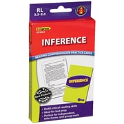 Edupress® Reading Comprehension Practice Card, Inference, Reading Level 3.5 - 5.0