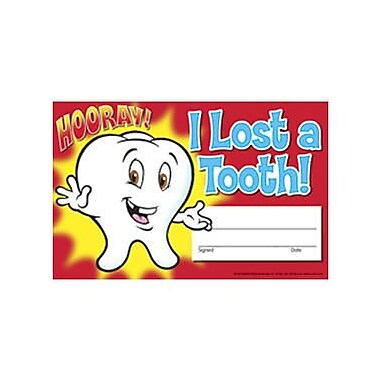 Trend Enterprises® Recognition Awards, I Lost A Tooth! Hooray!