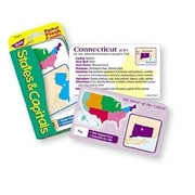 Trend Enterprises® Flash Cards, States and Capitals Pocket