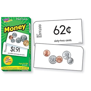 Trend Enterprises® Skill Drill Flash Cards, Money