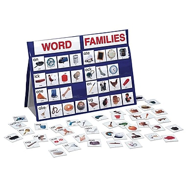 Smethport Word Families Tabletop Pocket Chart