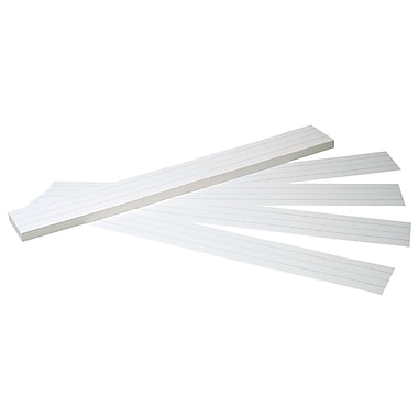 Pacon® White Tagboard Sentence Strip, 24