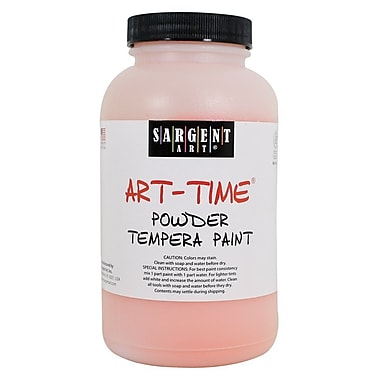 Sargent Art Art-Time Non-Toxic 1 lb. Tempera Paint, Orange (22-7114)
