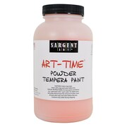 Sargent Art Art-Time Non-Toxic 1 lb. Tempera Paint, Orange (22-7114)