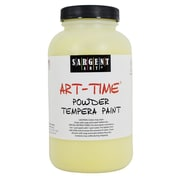 Sargent Art Art-Time Non-Toxic 1 lb. Tempera Paint, Yellow (22-7102)