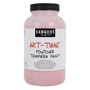 Sargent Art Art-Time Non-Toxic 1 lb. Tempera Paint, Red (22-7120)
