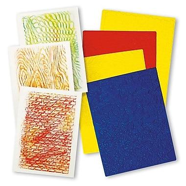 Roylco® Rubbing Plate, Texture