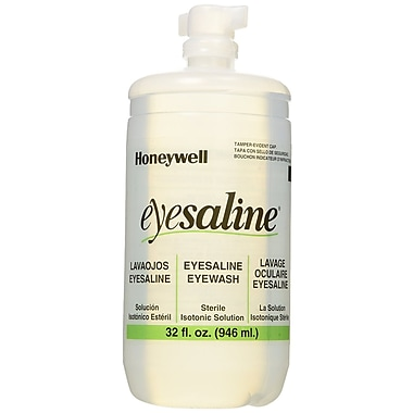 Fendall Sperian Saline Eye Wash Bottle Refill, 32 oz.