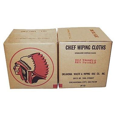 Oklahoma Waste & Wiping Rag Terry Cotton Turkish & Regular Mixed Towel, 10 lb/Box