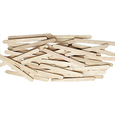 Chenille Craft® Natural Wooden Craft Stick, 150 Pieces