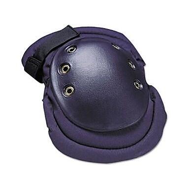 Allegro® Black Nylon Shell Foam Backing Rubber Cap Dual Elastic Velcro Strap Flex Knee Pad