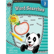 Teacher Created Resources® Ready - Set - Learn, Word Searches Book, Grades 2nd