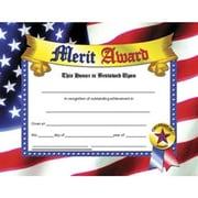 "Hayes® Blue Border Merit Award Certificate, 81/2"" x 11"", 30/Pack"