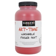 Sargent Art® Art-Time® 16 oz. Washable Finger Paint, Red