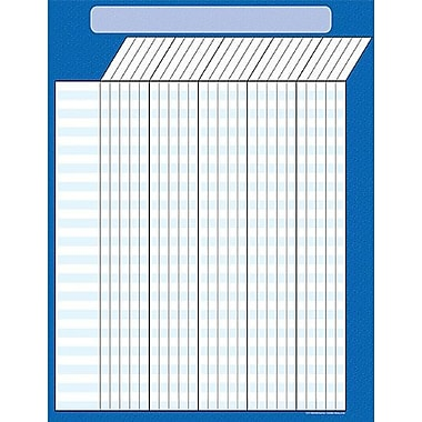 Teacher Created Resources® Incentive Chart, Blue