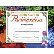 "Hayes® Certificate of Participation, 8 1/2"" x 11"" Grades Kindergarten - 9th"