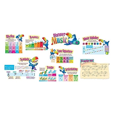 Trend Enterprises® Bulletin Board Set, Discover Music