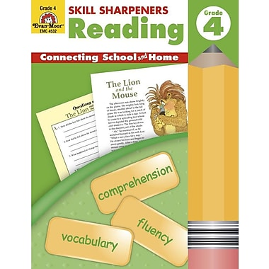 Evan-Moor® Skill Sharpeners Reading Book, Grades 4th