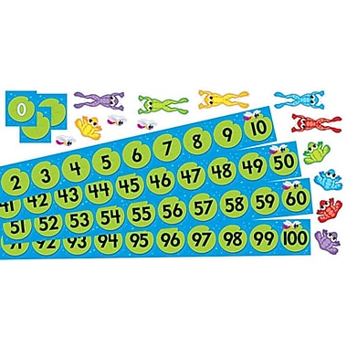 Trend Enterprises® Bulletin Board Set, Frog Pond Number Line