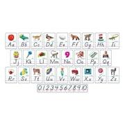 Trend Enterprises® Bulletin Board Set, Photo Alphabet Modern Manuscript