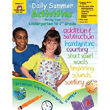 Evan-Moor® Daily Summer Activities Book, Grades Kindergarten - 1st