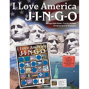 Gary Grimm & Associates® I Love America Jingo Game, Grades 3rd - 12th
