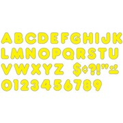 "Trend Enterprises® Casual Ready Uppercase Letter, 2"", Yellow"