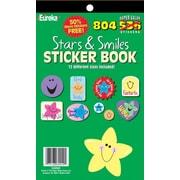 Eureka® Stickers Book, Stars and Smiles