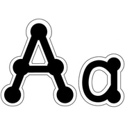 Creative Teaching Press Black Dot-to-Dot Letter, Lowercase
