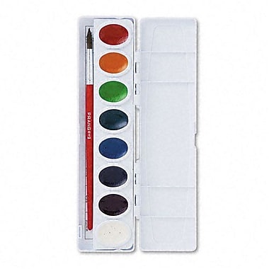 Prang Non-toxic Oval Pan Watercolor Set, 16 Colors (DIX16000)