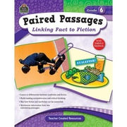 Teacher Created Resources® Paired Passages Linking Fact To Fiction Book, Grades 6th