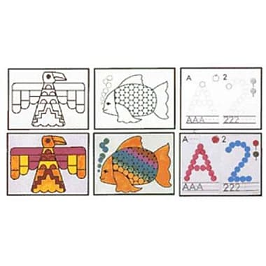 Do-A-Dot Art Who Is In Zoo? Animal Creative Activiy Book