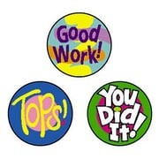 Trend Enterprises® SuperSpots® Stickers, Cheer Words