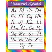 Trend Enterprises® Manuscript Alphabet (Modern) Learning Chart