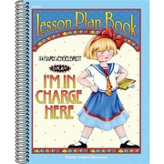 Teacher Created Resources® I'm In Charge Here Lesson Plan Book From Mary Engelbreit, Grades K-8th