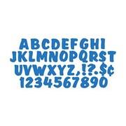 """Trend Enterprises® Ready Splash Uppercase Letter, 4"""", Blue"""