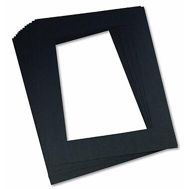 pacon pre cut mat frame black