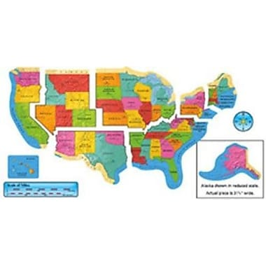 Trend Enterprises® Bulletin Board Set, United States Map